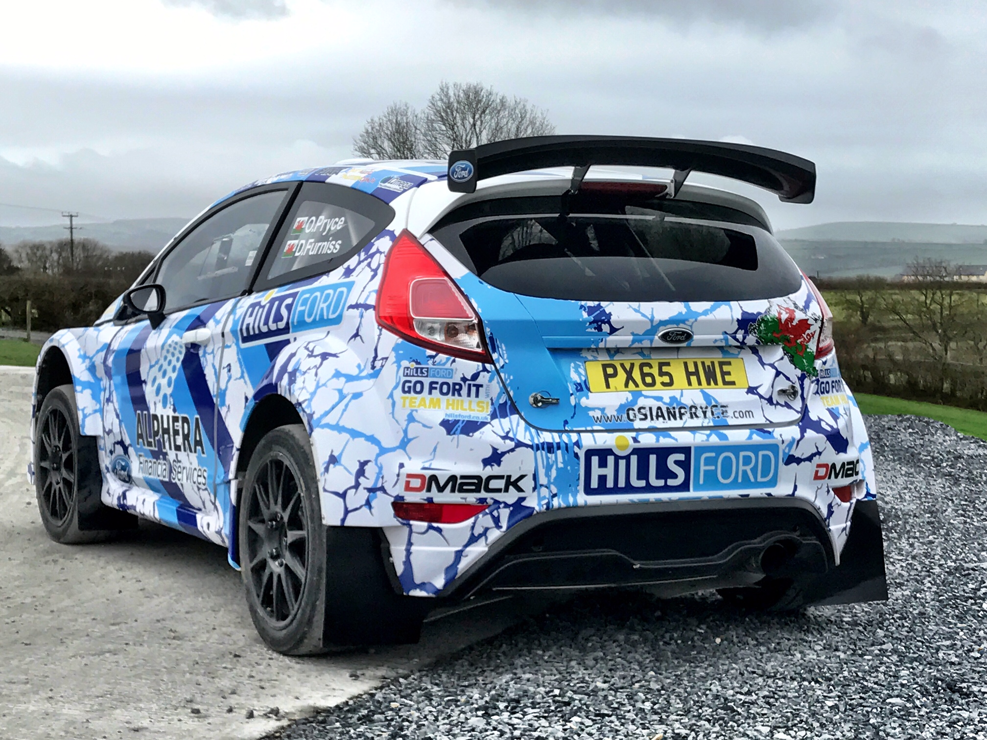 Rally Star Pryce Aims for British and World Glory in 2017