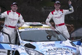 Pryce Delighted with British Rally Championship Podium on Debut in New Car