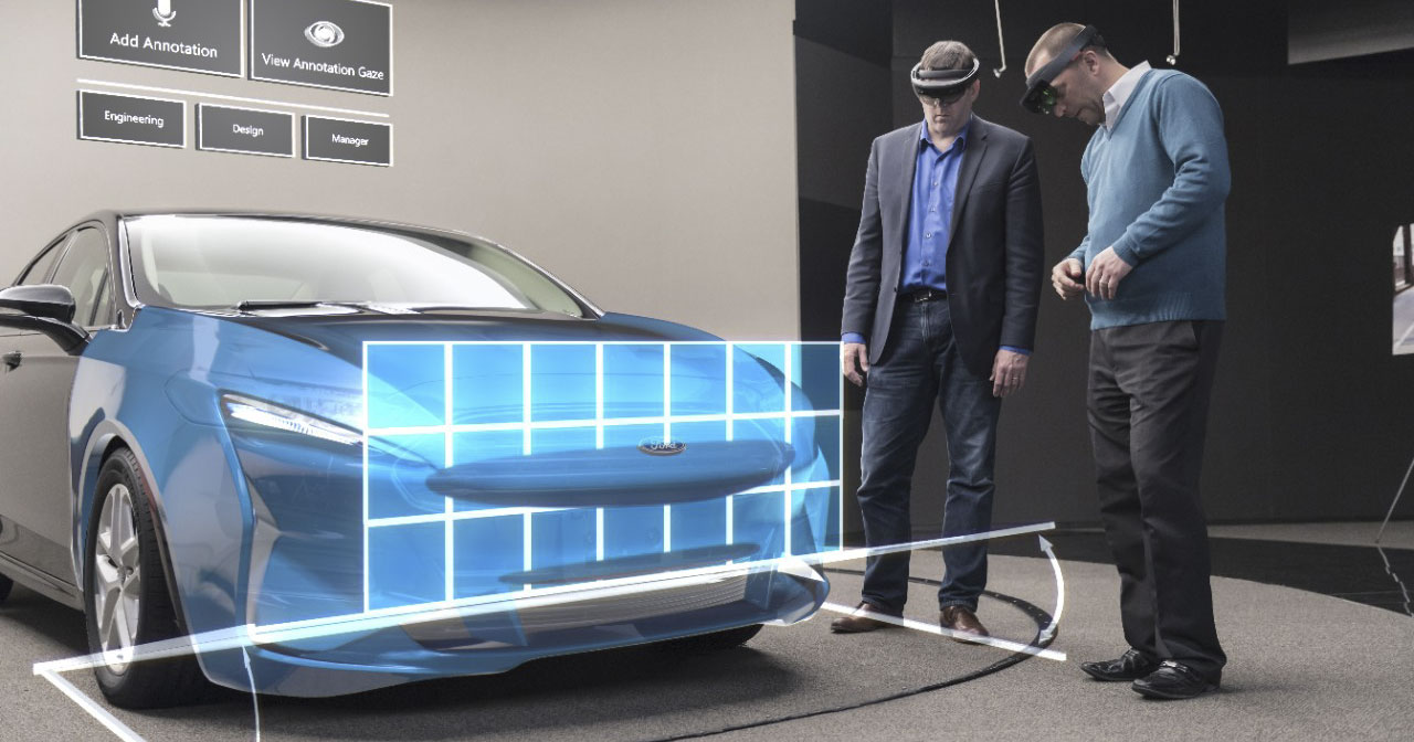 Ford Microsoft Hololens
