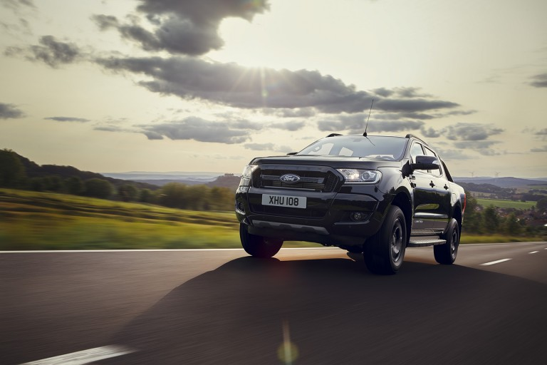 New Ford Ranger Black Edition Pickup