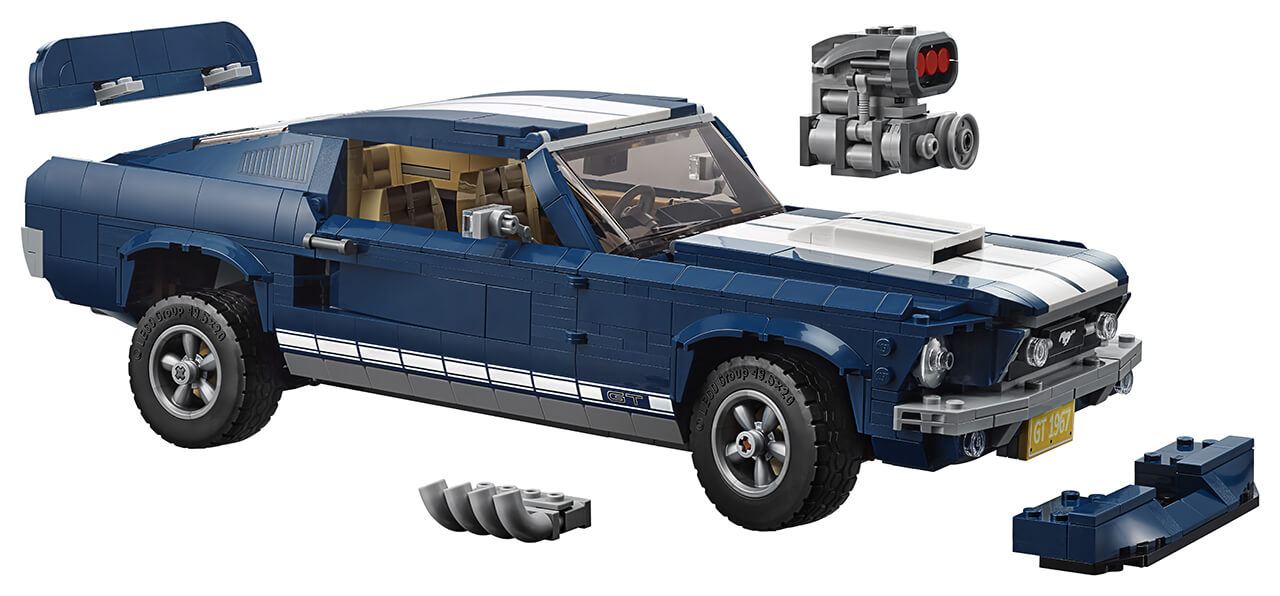 FORD AND LEGO® BRING A CLASSIC ICON OF THE ROAD TO THE